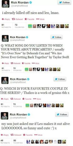 Gods, RICK RIORDAN, YOU F**KING TROLL!! I hate you but I love you! I'm so conflicted right now.....
