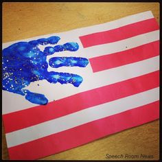 Happy Fourth of July! Happy Fourth of July! 4th July Crafts, Fourth Of July Crafts For Kids, Crafts For 3 Year Olds, Happy Fourth Of July, Patriotic Crafts, July 4th, February, Summer Activities, Toddler Activities