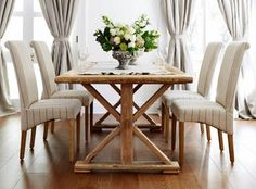 Lavender Hill Interiors - Provence Dining Table (French Provencial Style)