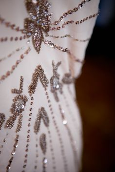 New materials : Bridal | L'AVENIR It's all in the details #vintage #beaded #dress