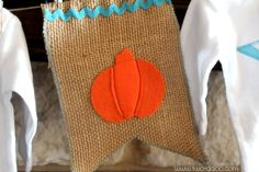 A fun pumpkin-themed baby shower with lots of crafty ideas!
