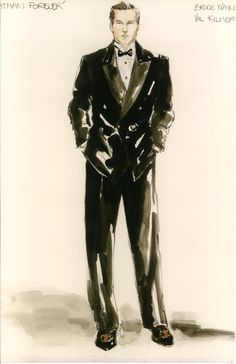 "Val Kilmer as Batman in his gorgeous suit in ""Batman Forever"""