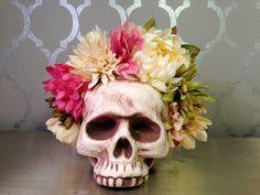 Dia de los Muertos FLOWER CROWN Flower by LaCatrinaDeSanDiego