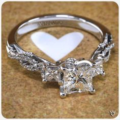 #Love is the only way... #Verragio #LoveRings (Insignia-7055)