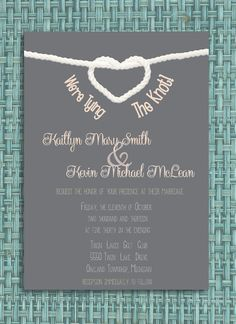 Hey, I found this really awesome Etsy listing at https://www.etsy.com/listing/168422023/tying-the-knot-wedding-invitation-diy