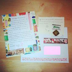 Segunda carta recibida :D #buzoncreativo #cartas #sobres #arte #art #idea #creative #mail #spain #correo #penpal #correspondencia #inspiracion #inspiration #letters #buzon #tea