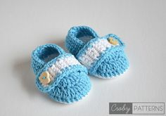 SUMMER DREAMS Crochet Baby Booties