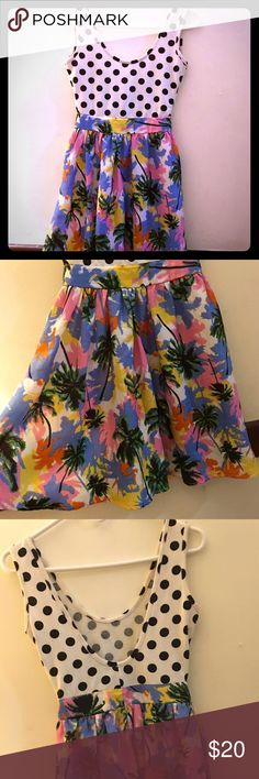 Amazing and unique dress So cute great condition , very cute!!! Dresses Mini