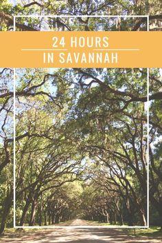 Travel Journal: 24 Hours in Savannah - Living Wonderfilled Travel Guides, Travel Tips, Travel Goals, Travel Hacks, Travel Packing, Solo Travel, Budget Travel, Travel Destinations, Visit Savannah