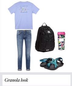 4a44d7be3fd5 Granola look with the chacos!  chacos  southerntide Lazy Day Outfits