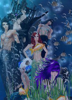 On IMVU Nowhere Mermaids