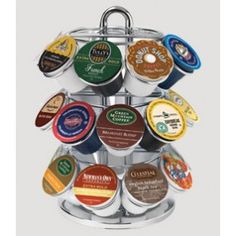 Make mornings easy with this rotating K-cup carousel!
