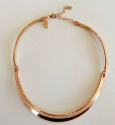 INC Rose Gold Tone High Polished 3 Piece Collar Necklace #INC #Collar