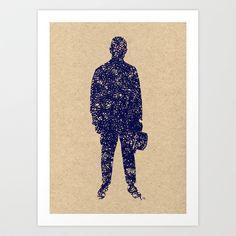 - closer to the sea - Art Print by Magdalla Del Fresto - $18.72 http://society6.com/product/closer-to-the-sea_print?curator=MagdallaDelFresto