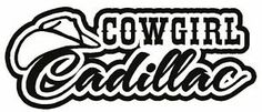 Cowgirl Stickers for Trucks | Cowgirl Cadillac Vinyl Decal Sticker Truck Car Diesel Country Girl ...