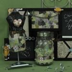 Something Old Something New - use steampunk style to craft handmade decor!  Free online craft class from Spotted Canary.