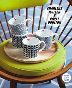 #London Calling: Royal Doulton x Charlene Mullen #ceramics @HomeArtyHome Home Arty Home http://homeartyhome.com/london-calling-royal-doulton-x-charlene-mullen/ @Royal Doulton UK @Charlene Mullen