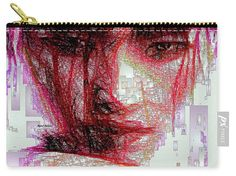 Carry-All Pouch - Oriental Portrait