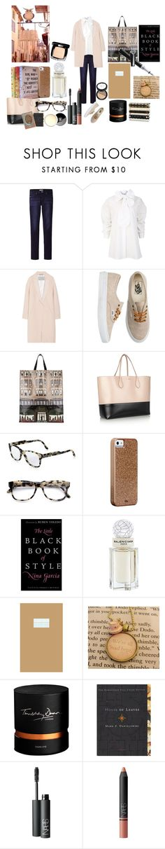 """Shopping books."" by nathalie-puex ❤ liked on Polyvore featuring Uniqlo, Vivienne Westwood Anglomania, By Malene Birger, Vans, Harrods, Rochas, STELLA McCARTNEY, Case-Mate, Mont Blanc and Garcia"