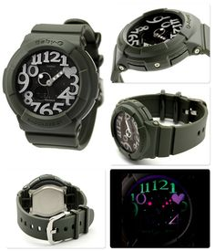 【楽天市場】ベビーG カシオ Baby-G ネオンダイアルシリーズ ベビーG カーキ BGA-134-3BDR【あす楽対応】:腕時計のななぷれ
