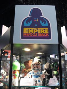 Denise Vasquez designed & created the Steve Sansweet custom Mighty Mugg toy for the Empire Muggs Back Project for Lucasfilm