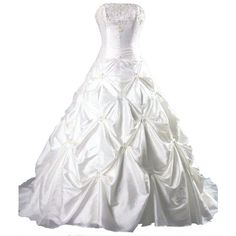 Faironly Taffeta Strapless Wedding Dress and other apparel, accessories and trends. Browse and shop 8 related looks.