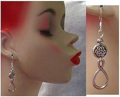 Silver Celtic Infinity Knot Dangle Earrings Handmade Jewelry Women Accessories http://cgi.ebay.com/ws/eBayISAPI.dll?ViewItem&item=161167577538