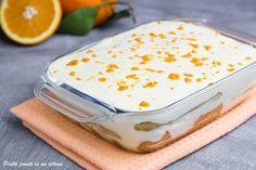 Il tiramisù all'arancia è un dessert molto semplice e veloce da preparare, ma al tempo stesso è anche molto appetitoso; è ideale quando hai ospiti a cena.