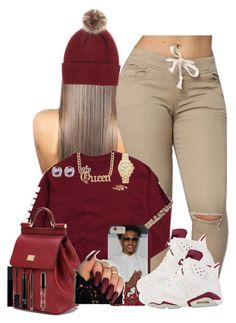 Untitled #309 by obeyakira ❤ liked on Polyvore featuring Helen Moore, Dolce&Gabbana, Michael Kors and Gucci Lit Outfits, Outfits For Teens, High School Outfits, Chill Outfits, Teen Fashion Outfits, Winter Outfits, Dope Outfits, Trendy Outfits, Summer Outfits
