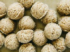 no-bake maple macaroons