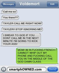 Ahahahahaha!  I thought this was HILARIOUS and then I read the name...even better!  Ha!