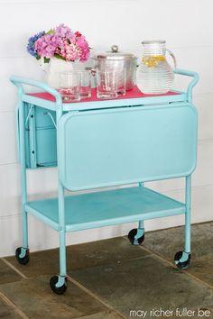 Vintage Kitchen Cart -