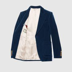 Velvet formal jacket - Gucci Jackets 508549Z495F4376