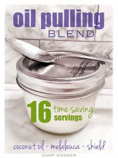 Easy Oil Pulling Blend with Essential Oils