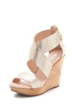 The Wedge. Diane von Furstenberg Opal Wedge Sandals