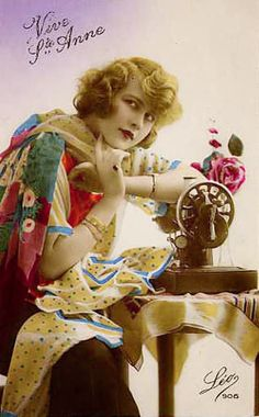 1000 Images About Vintage Sewing Postcard On Pinterest Vintage Sewing Postcards And Photo