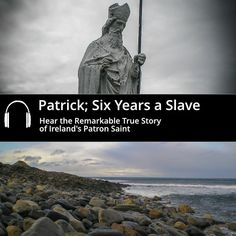 The Story of St Patrick – Hear the Story of Ireland's Patron Saint with this acclaimed Audio Book by Abarta Heritage. Book Works, Patron Saints, Archaeology, St Patrick, True Stories, Audio Books, Ireland, This Or That Questions, History
