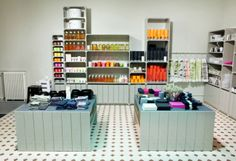 One day I hope to have a store as attractively organized/merchandised as Pino!