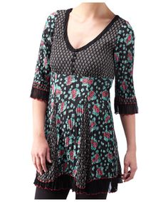 LC625 - Carefully Designed Crinkle Tunic  - Carefully Designed Crinkle Tunic, Women's Outlet Tunics, Women's Outlet, Clothing, Accessories, ...