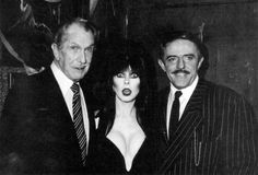 Elvira Movies, John Astin, Kansas Usa, Cassandra Peterson, The Munsters, Vincent Price, Scary Monsters, Dark Side, Hanging Out