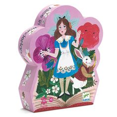 djeco puzzel alice in wonderland Puzzles, Pretty Box, Toys Online, Toy Store, Toy Chest, Snow Globes, Playroom, Wonderland, Silhouettes