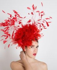 32f94f24 Rachel Feather Fascinator by Carrie Jenkinson Millinery #fascinators #hats # millinery www.carriejenkinson