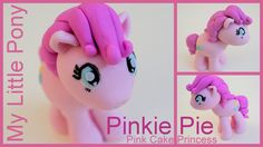 My Little Pony Pinkie Pie Cake Topper How to by Pink Cake Princess