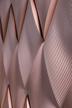 Note Design creates bulging weave-effect tiles for Kaza Concrete The ripples and ridges of sand dunes and traditional textiles helped form Note Design's Weave tile collection. Note Design Studio, Notes Design, Wall Patterns, Textures Patterns, Fabric Textures, Tile Design, Pattern Design, 3d Pattern, Pattern Ideas