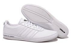 Sweetheart Adidas Porsche Bounce S3 Men Running Shoes In White, High Quaity