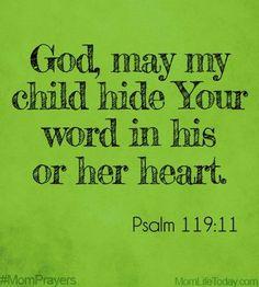 Mom Prayers for June & Treasured in My Heart Prayer For Our Children, Prayer For Mothers, Prayer For Family, Prayer Scriptures, Bible Verses, Mom Prayers, Psalms, Psalm 119, Prayer Times