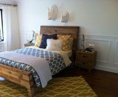 Feminine Rustic Industrial Bedroom Idea Board Brendon