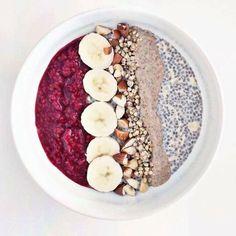 Desayuno lleno de fibra, potasio y proteína.