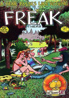 The Fabulous Furry Freak Brothers 3 by #Gilbert_Shelton #underground_comics