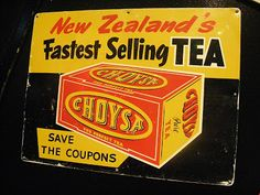 "You know you are getting older when you go to a museum and say ""I remember tea coupons."" See more at Faithphil Family Moments: New Zealand Food, Top Tv Shows, Nz Art, State Of Arizona, Kiwiana, My Roots, Vintage Signs, Vintage Images, My Childhood Memories"